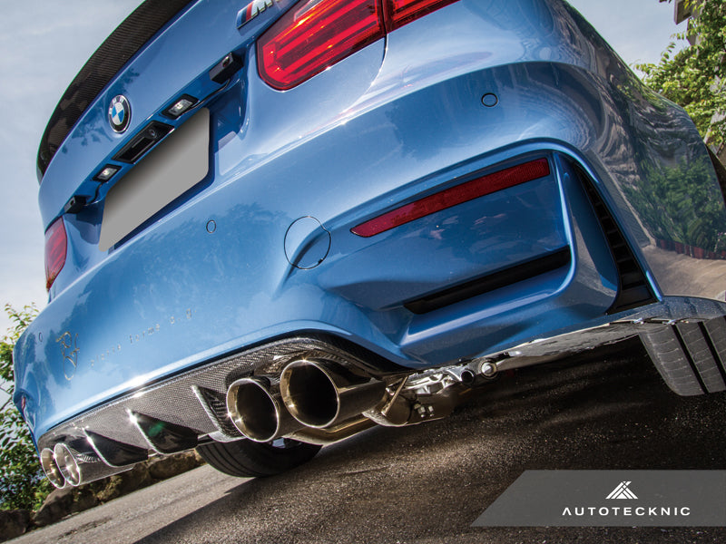 Shop AutoTecknic Dry Carbon Competition Rear Diffuser - F80 M3 | F82/ F83 M4 - AutoTecknic USA