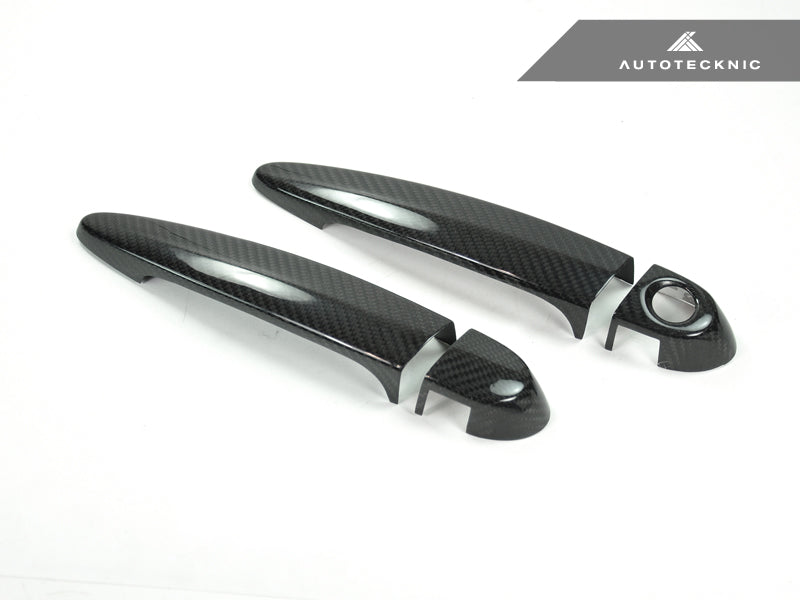 Shop AutoTecknic Dry Carbon Fiber Door Handle Trims - BMW Various Vehicles - AutoTecknic USA