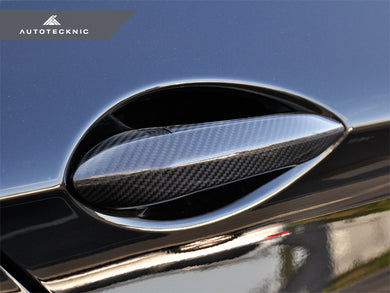Shop AutoTecknic Dry Carbon Door Handle Trims - F10 5-Series | F06/ F12/ F13 6-Series | F01 7-Series - AutoTecknic