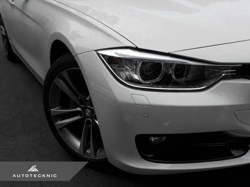 AutoTecknic Painted Front Bumper Reflectors - BMW F30 3-Series (Non-M Sport) - AutoTecknic USA