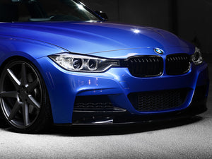 AutoTecknic Painted Front Bumper Reflectors - BMW F30 3-Series M Sport