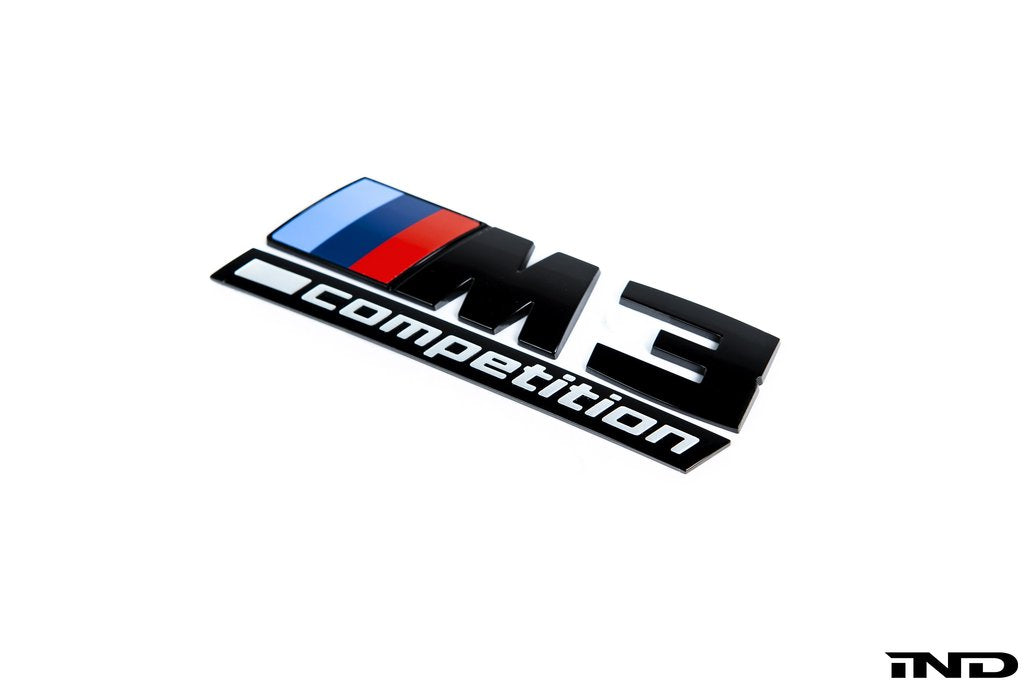 BMW Competition Trunk Emblem - G80 M3 - AutoTecknic USA