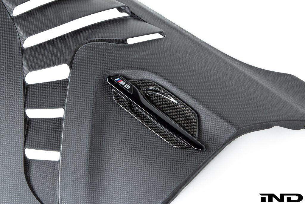 BMW M Performance Carbon Side Marker Set - F87 M2 - AutoTecknic USA