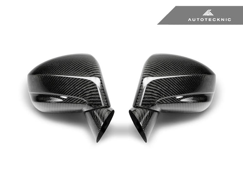 Shop AutoTecknic Replacement Dry Carbon Mirror Covers - Nissan R35 GT-R - AutoTecknic USA