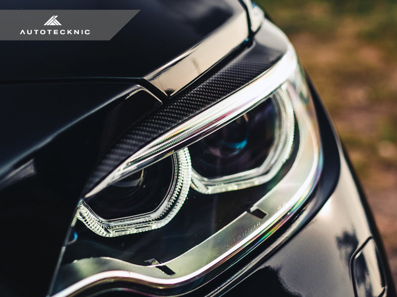 Shop AutoTecknic Carbon Fiber Headlight Covers - F87 M2/ M2 Competition | F22 2-Series - AutoTecknic USA