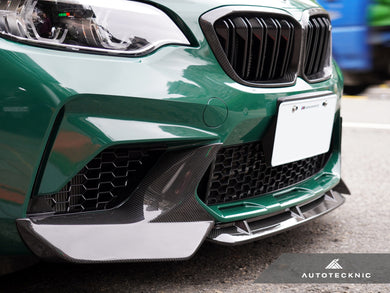Shop AutoTecknic Dry Carbon Fiber Center Front Lip - F87 M2 Competition - AutoTecknic USA