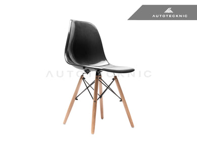 AutoTecknic Midcentury Dry Carbon Dowel-Leg Side Chair