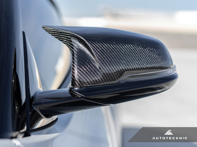 AutoTecknic Replacement Aero Carbon Mirror Covers - A90 Supra 2020-Up - AutoTecknic USA