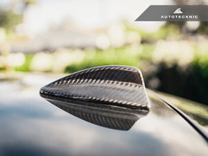 Shop AutoTecknic Dry Carbon Roof Antenna Cover - E82 1-Series | E90 3-Series Sedan | E92 3-Series Coupe Including M3 - AutoTecknic USA