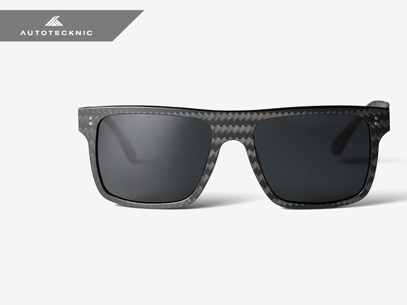 AutoTecknic Forged Carbon Sunglasses - Aviator