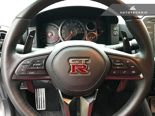 Shop AutoTecknic Painted Competition Shift Paddles - Nissan R35 GT-R 2017-Up - AutoTecknic USA