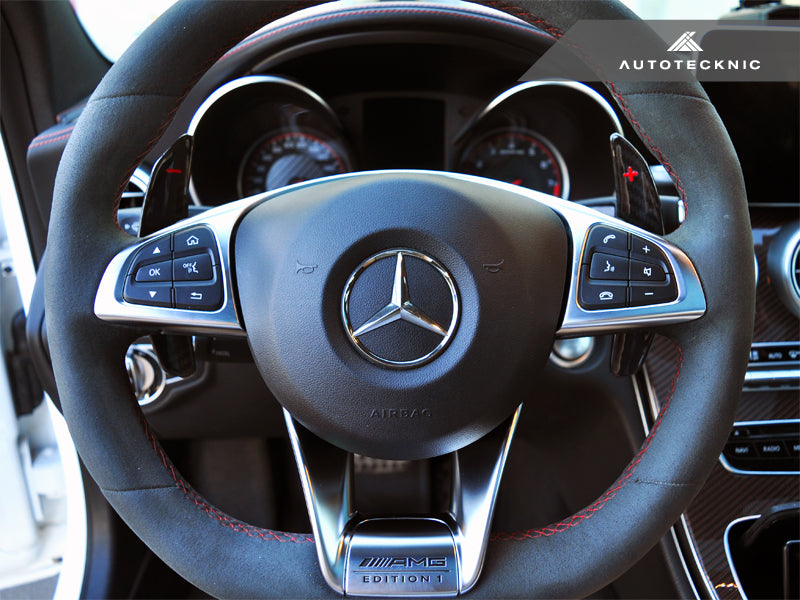 AutoTecknic Dry Carbon Battle Version Shift Paddles - Mercedes-Benz Various AMG Vehicles - AutoTecknic USA