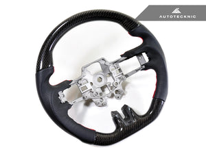 Shop AutoTecknic Replacement Carbon Steering Wheel - Ford Mustang 2015-2018 - AutoTecknic