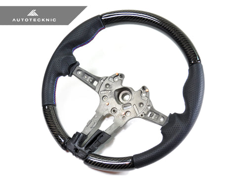 Shop AutoTecknic Replacement Carbon Steering Wheel - F87 M2 | F80 M3 | F82/ F83 M4 - AutoTecknic USA