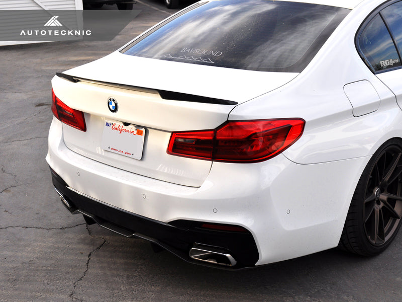Shop AutoTecknic Carbon Competition Extended-Kick Trunk Spoiler - F90 M5 | G30 5-Series - AutoTecknic USA
