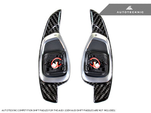 Shop AutoTecknic Dry Carbon Competition Shift Paddles - Audi DSG Vehicles 14-Up - AutoTecknic