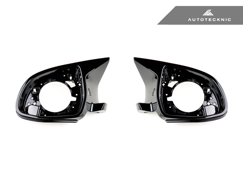 AutoTecknic Replacement Carbon Fiber Mirror Covers - BMW F85 X5M | F86 X6M - AutoTecknic USA