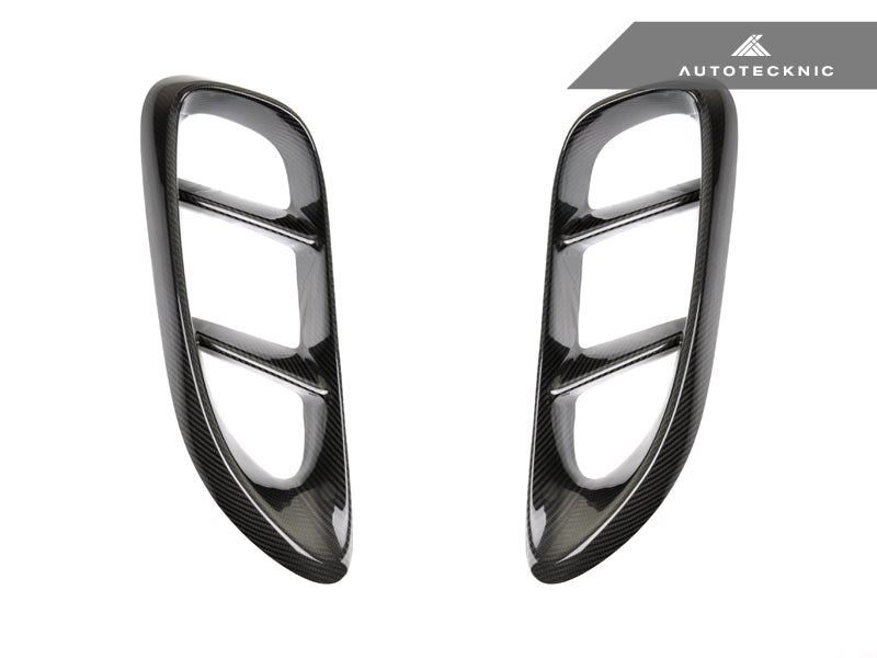 Shop AutoTecknic Dry Carbon Side Vent Covers - Porsche 718 Cayman | Boxster - AutoTecknic USA