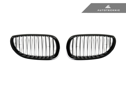Shop AutoTecknic Replacement Glazing Black Front Grilles - E60 5-Series | M5 - AutoTecknic