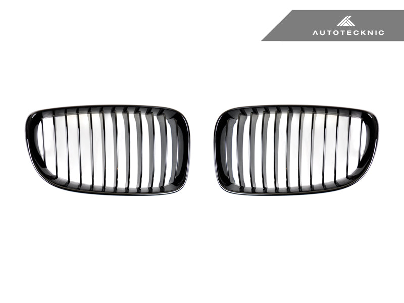 Shop AutoTecknic Replacement Glazing Black Front Grilles - E82 1-Series | 1M - AutoTecknic USA