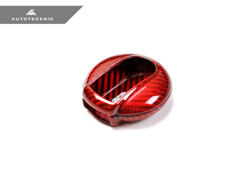 Shop AutoTecknic Red Carbon Key Case - MINI Cooper F54/ F55/ F56/ F57 | Countryman F60 - AutoTecknic USA