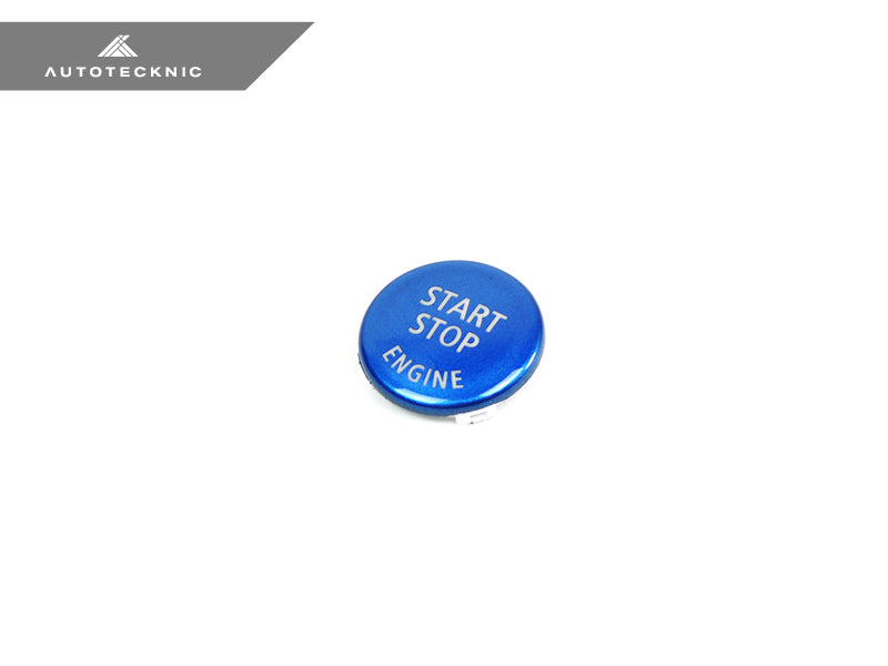 Shop AutoTecknic Royal Blue Start Stop Button - BMW E-Chassis Vehicles - AutoTecknic USA