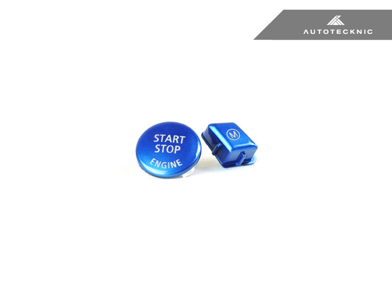 Shop AutoTecknic Royal Blue M Button - E9X M3 - AutoTecknic USA