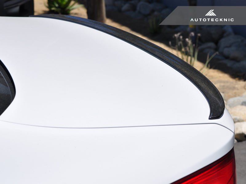 Shop AutoTecknic Carbon Trunk Lip Spoiler - F90 M5 | G30 5-Series - AutoTecknic USA