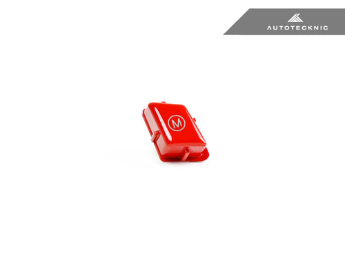 AutoTecknic Bright Red M Button - BMW E-Chassis M Vehicles