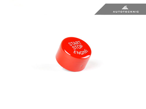Shop AutoTecknic Bright Red Start Stop Button - BMW F-Chassis Vehicles - AutoTecknic USA