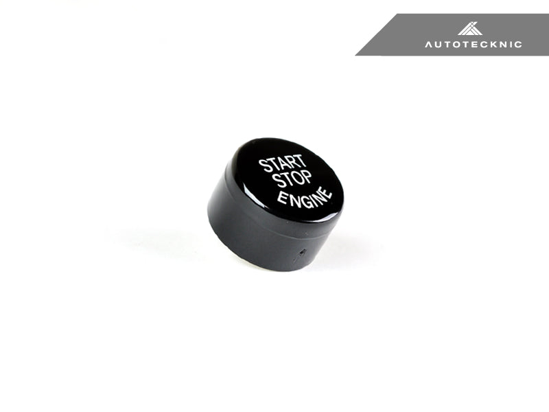 Shop AutoTecknic Gloss Black Start Stop Button - BMW F-Chassis Vehicles - AutoTecknic