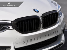 Shop AutoTecknic Dry Carbon Fiber Front Grille Covers - G30 5-Series - AutoTecknic