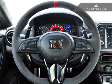 AutoTecknic Pre-Preg Dry Carbon Competition Shift Paddles - Nissan R35 GT-R 2017-Up