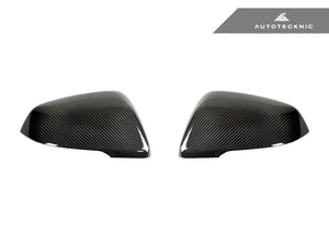 AutoTecknic Replacement Carbon Fiber Mirror Covers - BMW F48 X1 | F45/ F46 2-Series