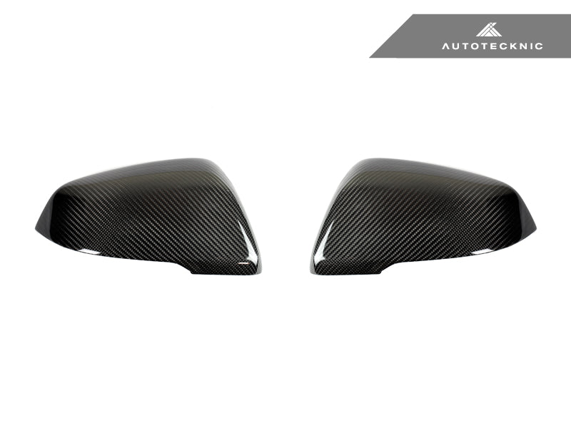 AutoTecknic Replacement Carbon Fiber Mirror Covers - A90 Supra 2020-Up - AutoTecknic USA