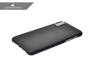 Shop AutoTecknic Dry Carbon iPhone Cover - iPhone XS - Matte Finish - AutoTecknic