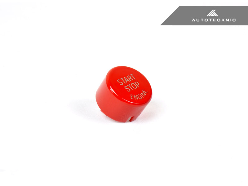 Shop AutoTecknic Bright Red Start Stop Button - G30 5-Series | G32 6-Series GT - AutoTecknic USA