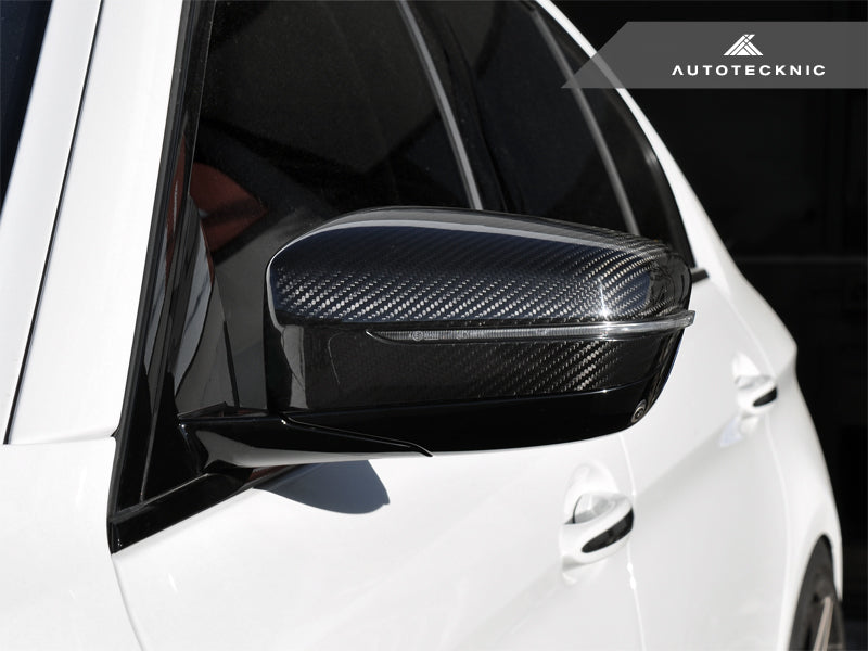 AutoTecknic Replacement Version II Dry Carbon Mirror Covers - G30 5-Series | G32 6-Series GT | G11 7-Series - AutoTecknic USA