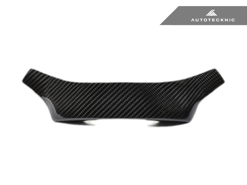 AutoTecknic Carbon Steering Wheel Top Cover - G30 5-Series | G32 6-Series GT | G11 7-Series - AutoTecknic USA