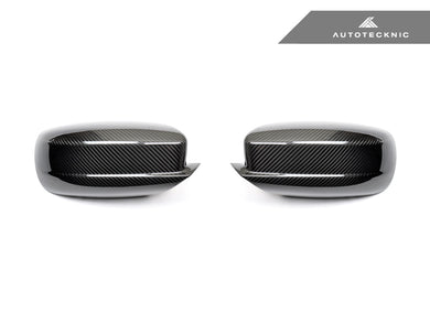 Shop AutoTecknic Replacement Dry Carbon Mirror Covers - Dodge Charger 2011-2019 - AutoTecknic