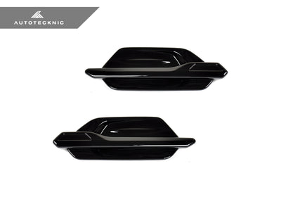 AutoTecknic Replacement Glazing Black Fender Trim - F87 M2
