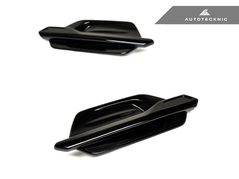 AutoTecknic Replacement Glazing Black Fender Trim - F87 M2 | M2 Competition - AutoTecknic USA