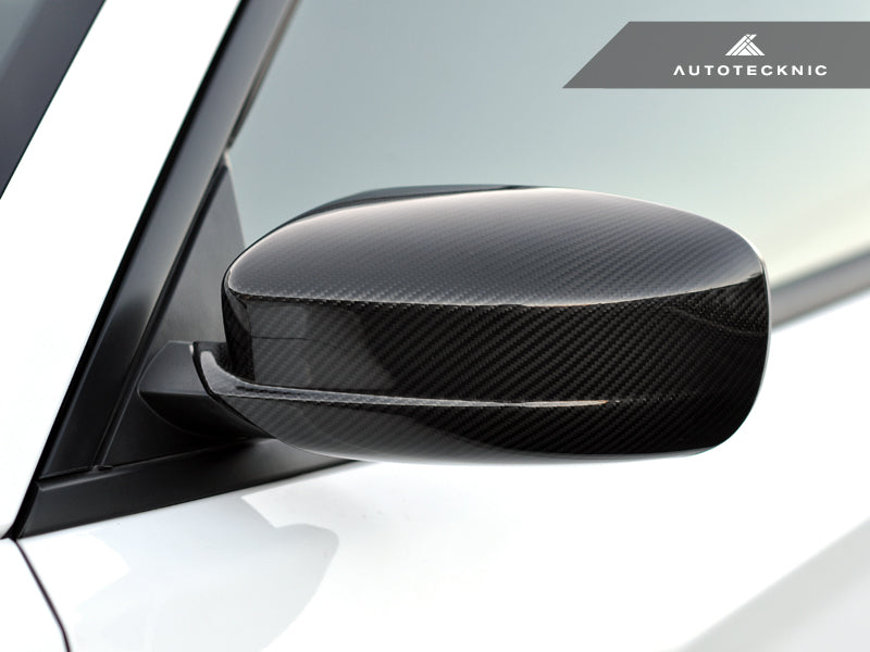 Shop AutoTecknic Replacement Dry Carbon Mirror Covers - Dodge Charger 2011-2019 - AutoTecknic USA