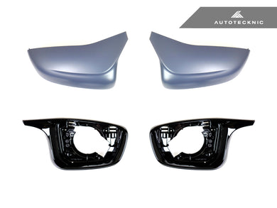 Shop AutoTecknic M-Inspired Complete Mirror Housing Kit - G30 5-Series | G32 6-Series GT - AutoTecknic USA