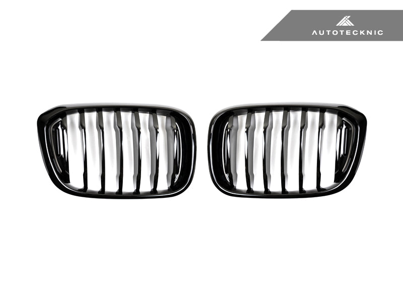 Shop AutoTecknic Replacement Glazing Black Front Grilles - G01 X3 | G02 X4 - AutoTecknic USA