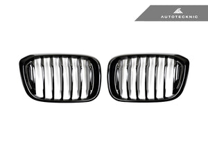 Shop AutoTecknic Replacement Glazing Black Front Grilles - G01 X3 | G02 X4 - AutoTecknic