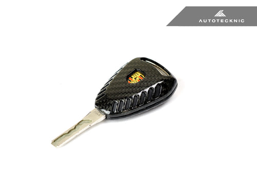 Shop AutoTecknic Replacement Carbon Fiber Key Cover - Porsche 997.2 911 Models & 987 Cayman & Boxster - AutoTecknic