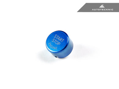 Shop AutoTecknic Royal Blue Start Stop Button - G30 5-Series | G32 6-Series GT - AutoTecknic