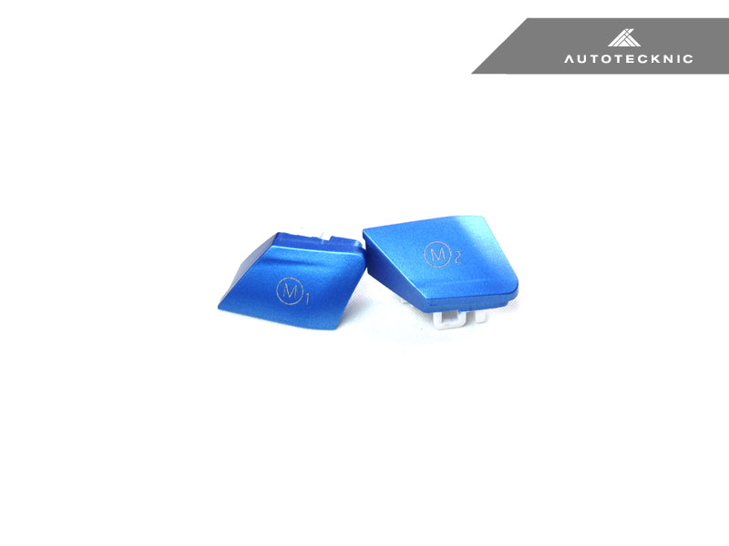 Shop AutoTecknic Satin Royal Blue M1/ M2 Button Set - F10 M5 LCI - AutoTecknic USA