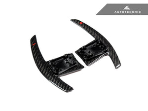 Shop AutoTecknic Dry Carbon Battle Version Shift Paddles - G01 X3 | G02 X4 - AutoTecknic